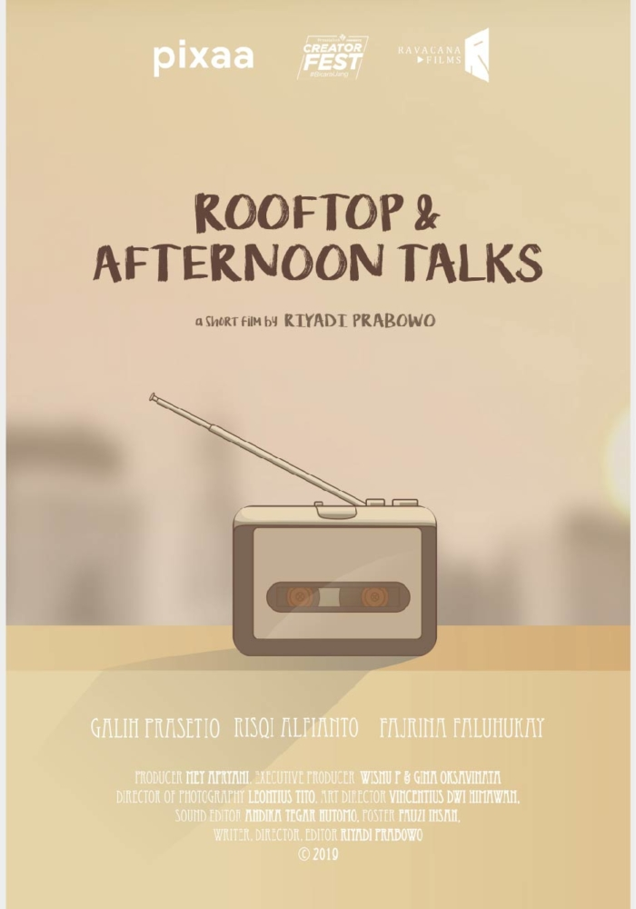 POSTER ROOFTOP & AFTERNOON TALKS